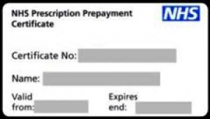 fbe50530e6 NHS NHS Perscription Repayment Certificate