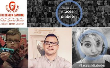 the #FacesOfDiabetes campaign.