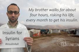 Charity raises Syrian diabetes crisis profile