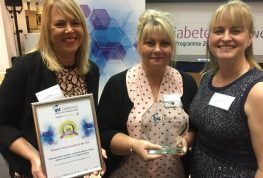 Excellence in diabetes care rewarded