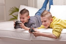 Worrying trend over children's electronic media