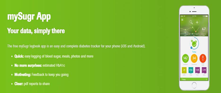 diabetes logbook by mysugr para android